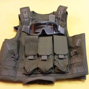 Other - AIRSOFT Vest and Eye Protection